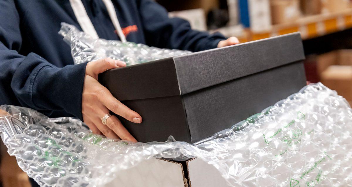 Magazzini ecommerce calzature TreElle Trasporti